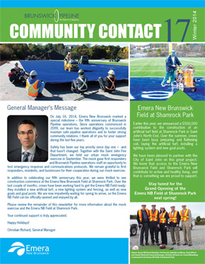 brunswick pipeline community contact newsletter